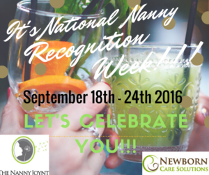 Nanny Recognition week