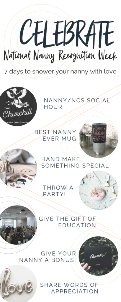 Ways to show your  nanny appreciation