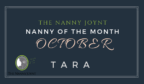 October Nanny of the month